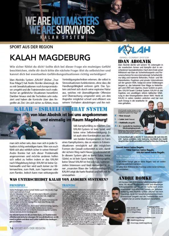 Kalah Magdeburg in der Zeitung